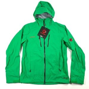 Mammut Dry Tech Bright Green Lightweight Jacket